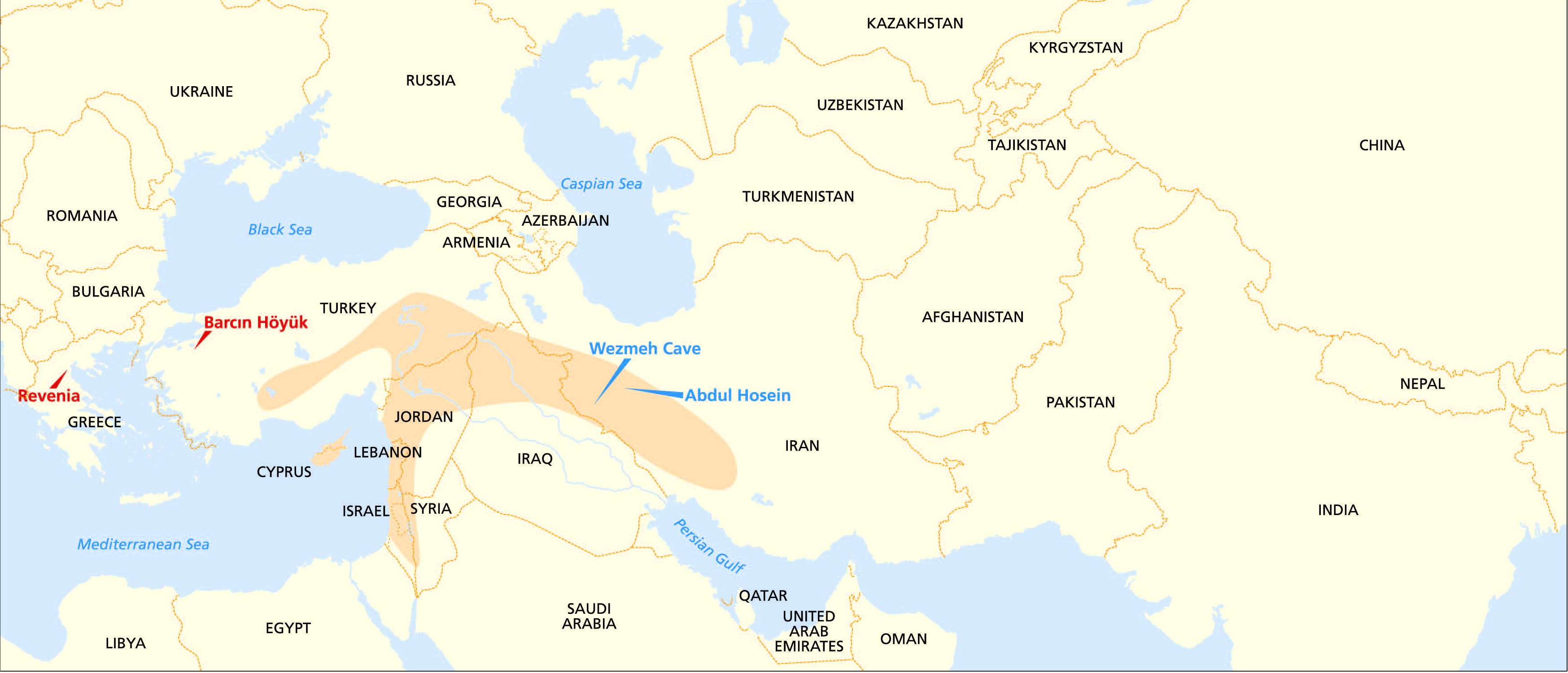 Prehistoric Genomes From The World S First Farmers In The Zagros